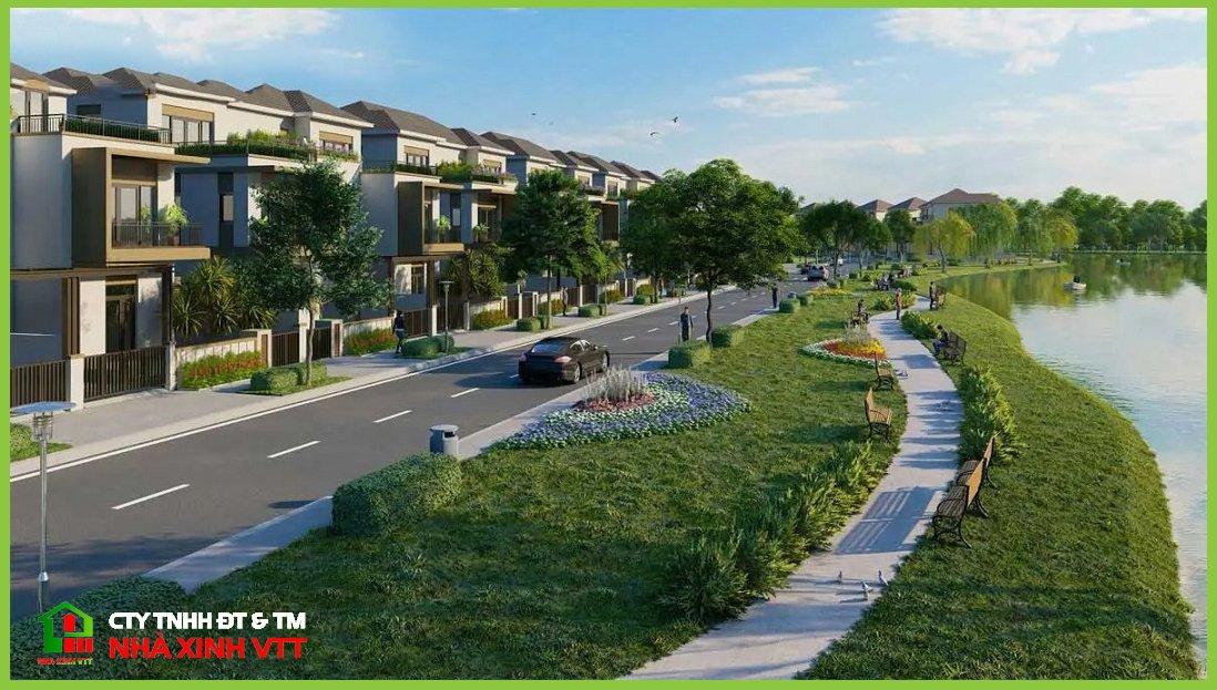 Khu dân cư Minh Trí Hệ thống kênh rạch tạo yếu tố phong thủy đắc địa cho dự án